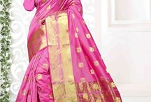 2655 Shree cotton silk saree with blouse