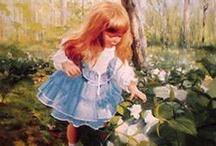Oil paintings: Donald Zolan