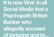 British Banker accused of Merciless Murder of two Prostitutes in Hong Kong / It is now Viral  in all Social Media that a Psychopath British Banker who allegedly accused of torturing and brutally murdering two Prostitutes in Hong Kong.