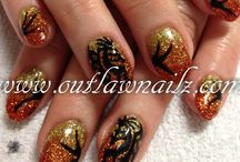 Thanksgiving Nails / Nail designs inspired by the holiday