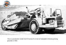 Caterpillar's model 619 scraper