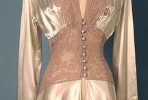 Vintage wedding gowns etc
