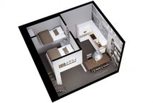 Small Housing Units / Hotel Rooms