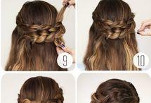Haj tippek / Egyszerű frizurák