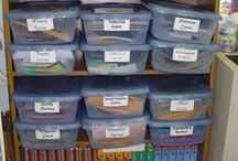 Organize Your Classroom / Organization tips and ideas for the classroom.
