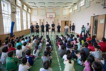 ロシア日本人学校訪問