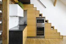 staircase storage / Kuchyne