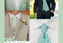mint green themed