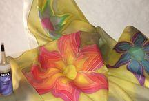 Seidenmalfarbe DEKA-Silk / Seidenmalfarbe auf Wasserbasis, brilliante Farbtöne bügelfixierbar weicher Griff