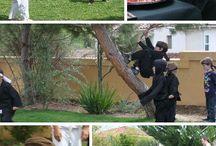 Ninja training kids