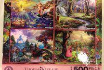 Disney Thomas Kinkade Puzzle