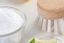 Produtos de limpeza biodegradáveis