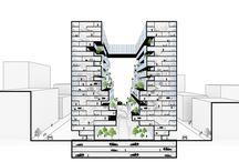 Tower housing