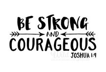 2017 One Word+ BE STRONG AND COURAGEOUS