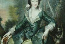 Green riding habit 1760-1780