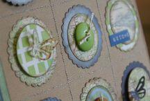 Cards embellishments