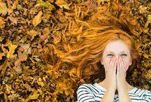 Осень портрет