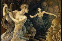 Greek Mythology / Where do Orpheus and Eurydice come from?