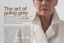 the art of going grey
