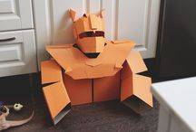 Paper Costume / DIY craft and paper costumes