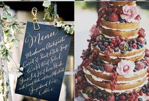 Wedding burgundy+ navy blue