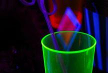 KIDS:Birthday Party-Theme:: Glow in the Dark / by Larrendy Hughes-Mcdonald