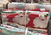 L& C christmas fabrics