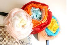 *DIY & Crafts* Flowers, Bows, pom poms & Inspiration!  / by Cadischa Lampe