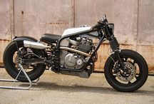 Motorbikes / I ride a slowly evolving Mk.I Suzuki Bandit 600 and aspire to one day owning a custom bike from somebody like Deus or Spirit of the Seventies / by Andy Hawkes
