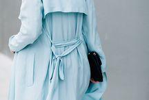 Light blue silk