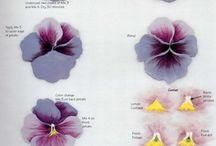 malowanie kwiatów