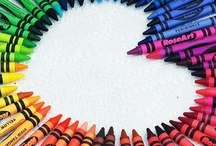 crayons / crayons - they are more than just a box of 8 colouring sticks