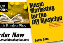 """BOOK OF THE MONTH / Announcing """"BOOK OF THE MONTH""""!!!  Each month Music Books Plus will highlight a different book and share with our fans. These books will be full of value, advice, and help kick start, jump, and advance your career in music."""
