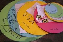 kindergarten social studies - maps and globes