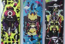 Artist Designed Skateboards / The definitive index of premium skateboards designed by the best visual artists and designers from throughout the world.