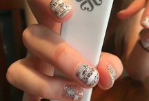 Glamberri Boutique / Jamberry nails with a Glamberri Twist! Fall in love with Jamberry's Glamberri Girl!