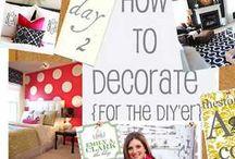 Decorating ideas / by Mary Hanson