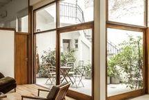 ventanales al patio