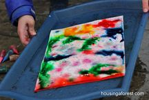 Outdoor crafts and games