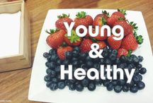 Young & Healthy / Food can still be delicious when it's healthy! Check out these awesome recipes!