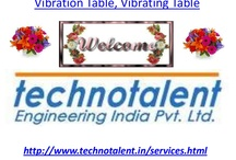 Vibration Table, Vibrating Table