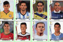Figurinhas da Copa / Figuras virtuais dos jogadores da copa do mundo 2014.
