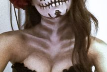 Halloween / Day of the dead make up ideas from Mexico.
