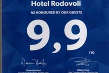 Hotel Rodovoli (Awards) / Hotel Rodovoli Awards and Distinctions