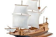 Modelismo naval / Lo mejor en modelismo naval, maquetas de madera de todo tipo de barcos y varios barcos celebres.