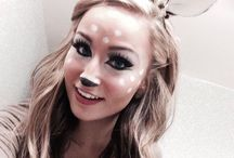 Halloween Makeup || / Get some cool ideas for Halloween