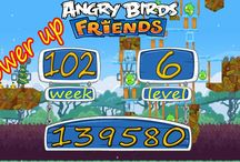 Angry Birds Friends Week 102 all levels power up / Angry Birds Friends  All Levels 3 star strategy High Scores This is our no power and power up