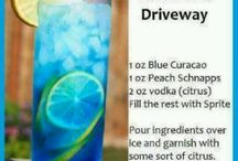 Blue Drinks / Drinks that are blue for 388th gatherings