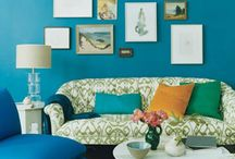 Teal wall inspirations