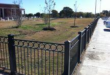 Ornamental Fences / Ornamental fences installed by Titan Fence & Supply Company.